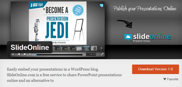 Introducing SlideOnline Plugin for WordPress
