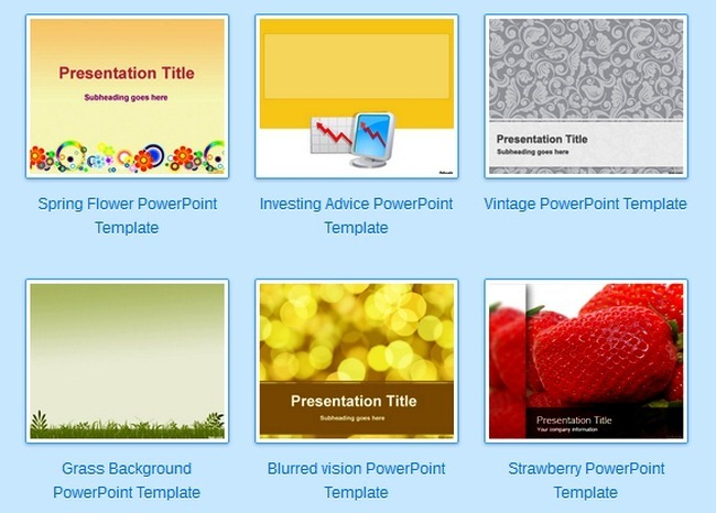 Use Fppt Powerpoint Templates To Share Presentations With