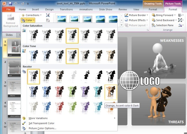 Customize Animations